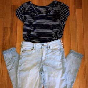 Aeropostale Light Wash Jeans